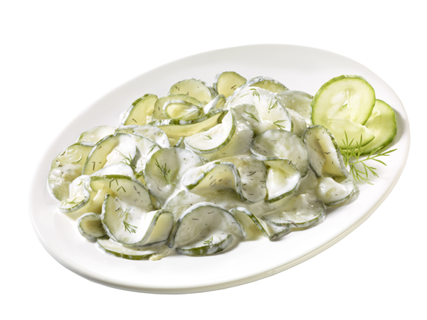 Feiner Gurken-Salat