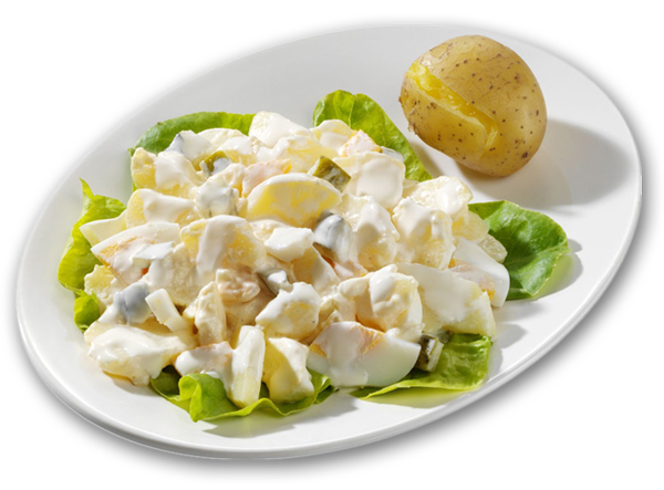 Pellkartoffel-Salat