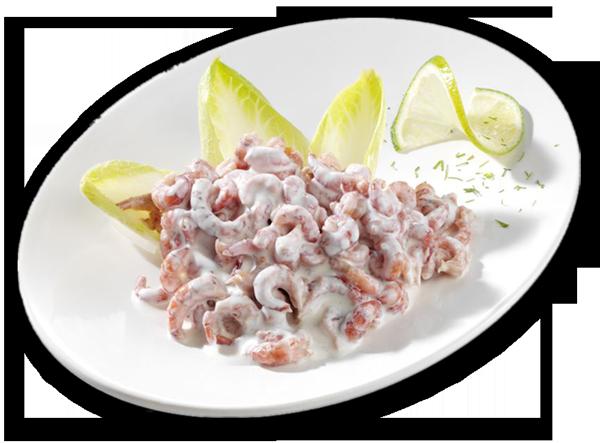 Nordsee-Krabben-Salat