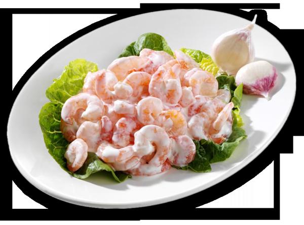 Tiefsee-Krabben-Salat