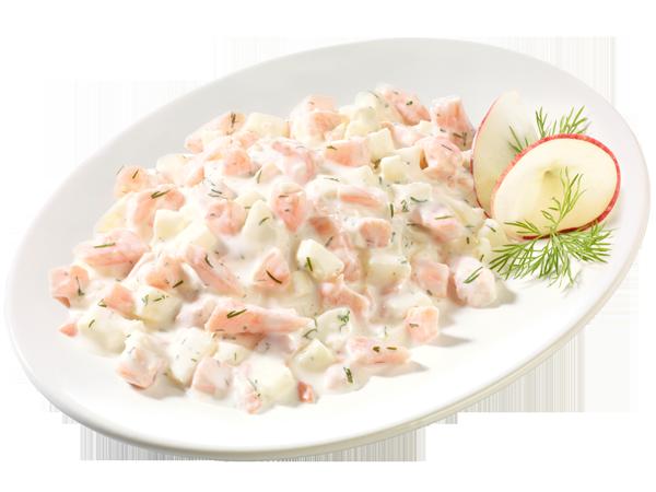 Lachs-Salat